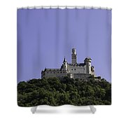 Marksburg Castle 19 Shower Curtain
