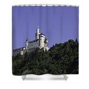 Marksburg Castle 25 Shower Curtain