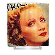 Marlene Dietrich Shower Curtain