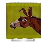 Marlene The Mule Shower Curtain