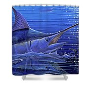 Marlin Mirror Off0022 Shower Curtain