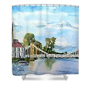 Marlow On Thames 2 Shower Curtain