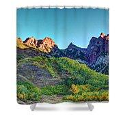 Maroon Bells National Recreation Area Shower Curtain