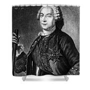 Marquis De Vaudreuil (1698-1778) Shower Curtain