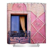 Marrakesh Balcony Shower Curtain