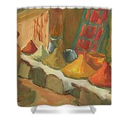 Marrakesh Market Shower Curtain