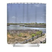 Marsh Shower Curtain