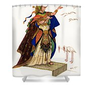 Marsh Kings Daughter Shower Curtain