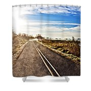 Marsh Road Shower Curtain