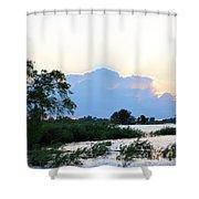 Marsh-set Shower Curtain