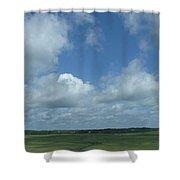 Marsh Waterways Shower Curtain