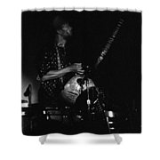 Marshall Allen Plays Strings  Shower Curtain