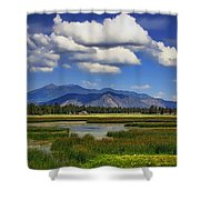 Marshall Lake Shower Curtain