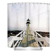 Marshall Point Approach  Shower Curtain