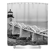 Marshall Point Lighthouse 2937 Shower Curtain