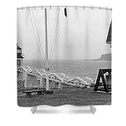 Marshall Point Lighthouse 2963 Shower Curtain