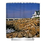 Marshall Point Lighthouse Complex Shower Curtain