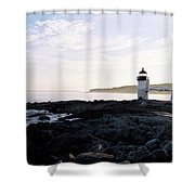 Marshall Point Sky Shower Curtain