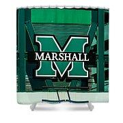 Marshall University Shower Curtain