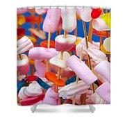 Marshmallow Shower Curtain