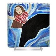 Martha Graham Shower Curtain