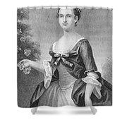Martha Washington (1732-1801) Shower Curtain