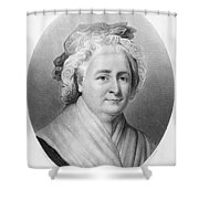 Martha Washington (1732-1802) Shower Curtain