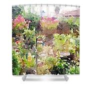 Martha's Garden Shower Curtain