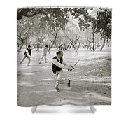 Martial Art Shower Curtain