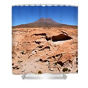 Martian Landscapes On Earth Shower Curtain