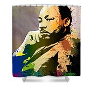Martin Luther King Jr.  Shower Curtain