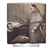 Martin Rithone Blessing The Body Of The Count Of Egmont Wc On Paper Shower Curtain