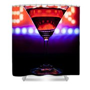 Martini Bar Shower Curtain
