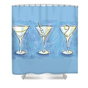 Martini Lunch Shower Curtain