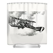 Martinsyde G 100 Shower Curtain by James Williamson