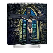 Martyr Of The Curch II Shower Curtain