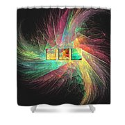 Marucii 237-03-13 Abstraction Shower Curtain