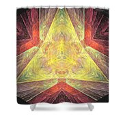 Marucii 238-03-13 Abstraction Shower Curtain