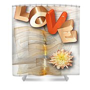 Marucii 277-07-13 Love Shower Curtain