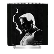 Marv Shower Curtain by Wave