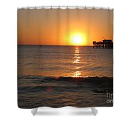 Marvelous Gulfcoast Sunset Shower Curtain