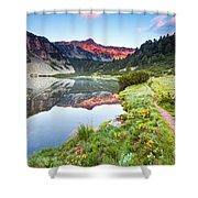 Marvelous Lake Shower Curtain