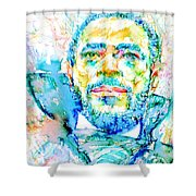 Marvin Gaye - Portrait Shower Curtain