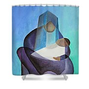 Mary And Messiah Shower Curtain