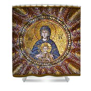 Blessed Virgin Mary And The Child Jesus Shower Curtain