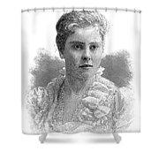 Mary Crowninshield Endicott Chamberlain Shower Curtain