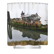 Mary D Hume Shower Curtain