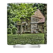 Mary Dells House Shower Curtain by Heather Applegate