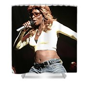 Mary J. Blige Shower Curtain