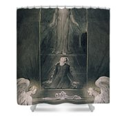 Mary Magdalene At The Sepulchre Shower Curtain